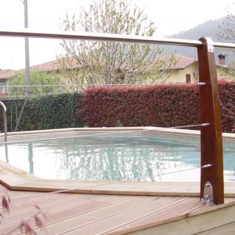 Serramenti in legno alluminio pvc schuco falegnameria for Piscina fantecolo