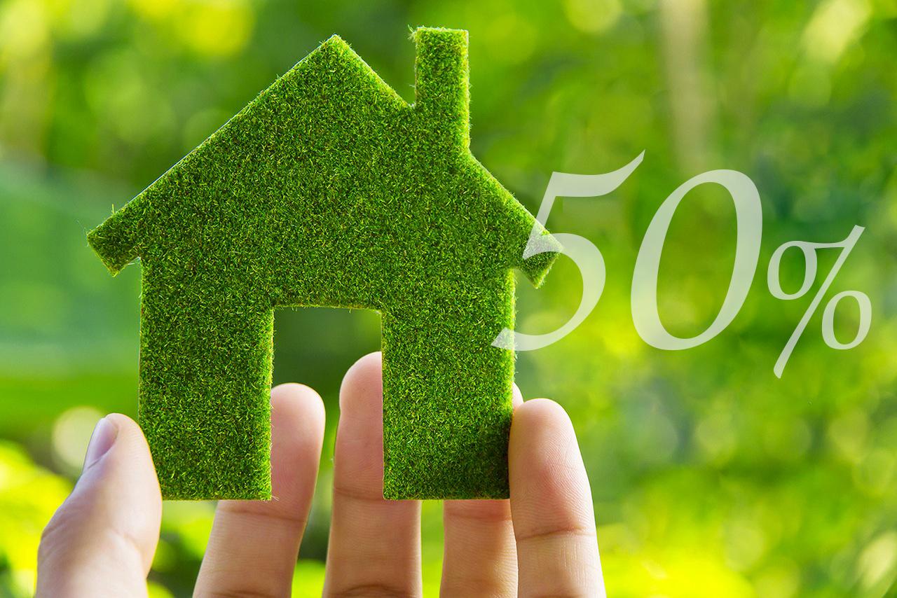 Infissi Ecobonus 50% sconto in fattura